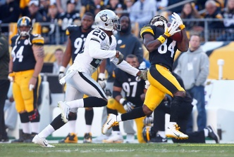 Raiders Roar Back, But Then Lose to Steelers