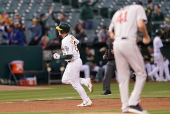 A's Win Second Straight Over World Champion Red Sox