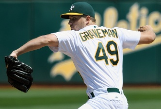 Graveman Sharp as A's Take Series Over Indians