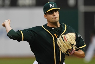 Rookie's Gem Wasted in A's Loss to Carrasco, Indians