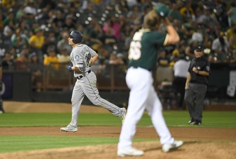 A's Burned by Former Teammates, Lose to Mariners