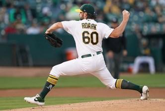 Roark is Sharp as A's Shut Down Angels