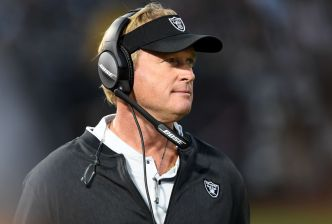 Raiders Get a Victory in Gruden's Debut