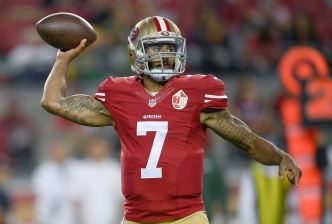 Kaepernick Thanks Fans for No. 1 Selling Jersey