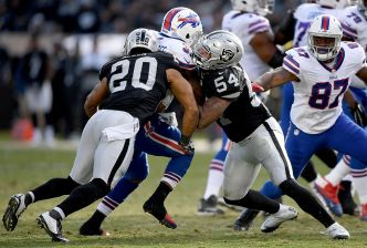 Raiders' Allen Has Been a Nice Insurance Policy