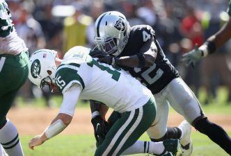 Raiders' Joseph Is Making Big Strides in Second Season