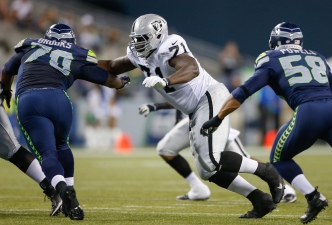 Raiders' Watson, Howard Expected to Compete for Job at Right Tackle