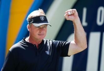 Raiders' Gruden Takes a Chance on Peterman