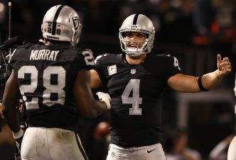 Raiders Hope to Get Running Attack Back on Track