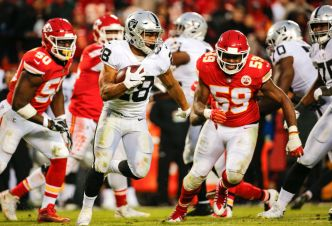 Raiders' Doug Martin Will Be Mentor for Josh Jacobs