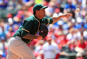 A's Waste Manaea's Career-High 10 Strikeouts, Fall to Texas