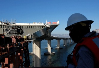 Gov. Brown on Bay Bridge Bolt Problem: S--- Happens