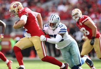 49ers Blow Two-Touchdown Lead, Fall to Cowboys
