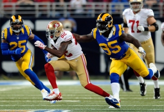 So Far, Torrey Smith Hasn't Made Big Impact on 49ers