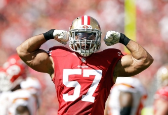 For Now, Wilhoite is Back in 49ers' Plans