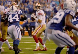 Niners Rally, Then Lose to Colts in Overtime
