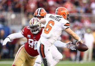 Niners' Defense Gets Its Greatest Test Yet