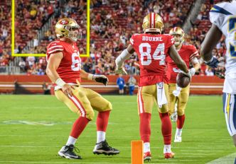 49ers Keep Kendrick Bourne, But for How Long?