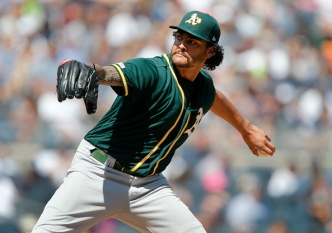Manaea Brilliant in 2019 Debut But A's Fall to Yankees