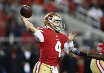 Niners May Have to Start QB Nick Mullens vs. Raiders