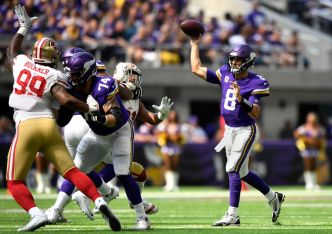 Niners, Garoppolo Get Tripped Up in Minnesota