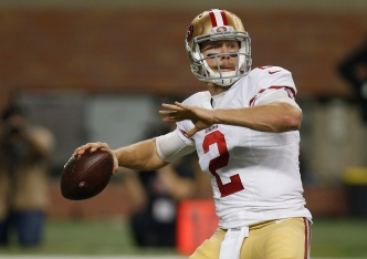 Gabbert May be a Better Fit for Kelly's Offense Than Kaepernick