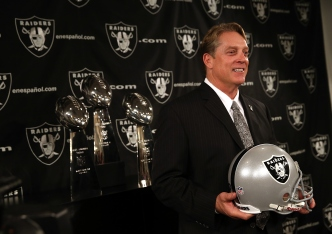 Raiders Appear Energized by Del Rio and Co.