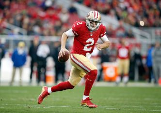 Niners' Kelly Has Been Surprised by Gabbert's Athletic Ability