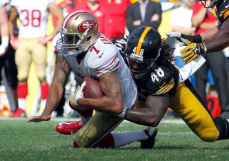 Niners' Passing Game Plagued by Poor Protection