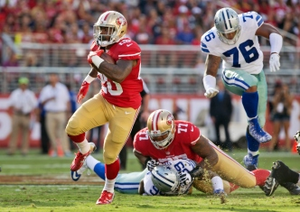 In Second Season, Trent Brown May Find a Home on 49ers' Line