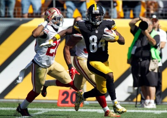 Niners Pummeled in Pittsburgh