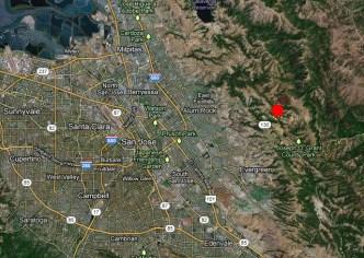 3.4 Magnitude Earthquake Hits East of San Jose