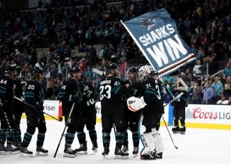 Sharks Clinch Berth in Stanley Cup Playoffs