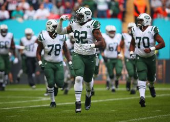 Jets' Strong Defensive Front Hopes to Rebound vs. Raiders