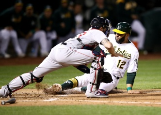 A's Unable to Make it Three Straight Wins Over the Red Sox