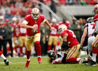 Gabbert Leads 49ers Into House of Pain