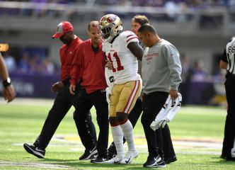 Niners Hope to Get Marquise Goodwin Back vs Chiefs