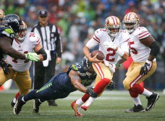 Niners Let Lead Slip Away in Seattle