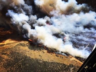 Evacuations Lifted for Stone Fire in Agua Dulce