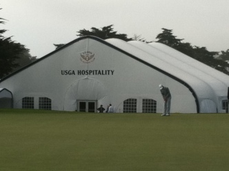 U.S. Open Anticipation Building