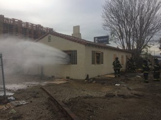 SJFD Investigating Suspicious Fire at Abandoned Building