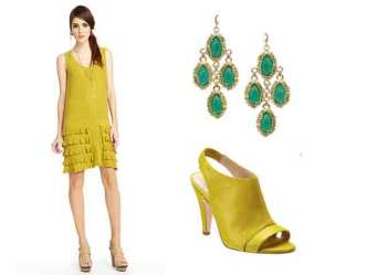 20 Chic Looks in Yellow, Green and Black