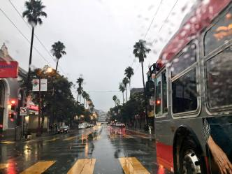 Slow-Moving Storm Pelts Bay Area With Rain