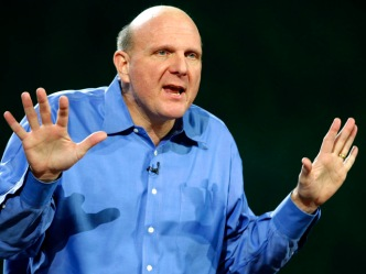 Ballmer Quietly Leads Microsoft Out of CES