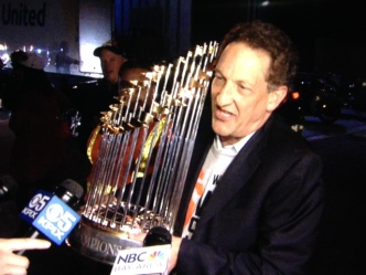 """Euphoria"": Giants Return Home After World Series Win"