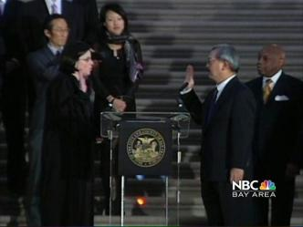 From the Archives: Ed Lee is Sworn in as Mayor