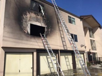 Fire at Apartment Complex in Redwood City Controlled