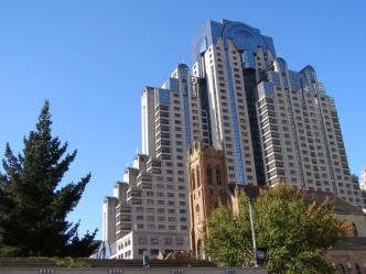 Marriott Marquis Hotel Stands Tall After Loma Prieta Earthquake