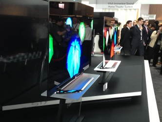 Thin, 3D TVs Top Show at CES
