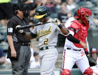 A's Offense Corralled by White Sox, Drop Series in Chicago
